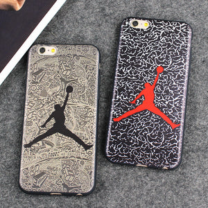 Air Jordan Silicone Case For All iPhone Models