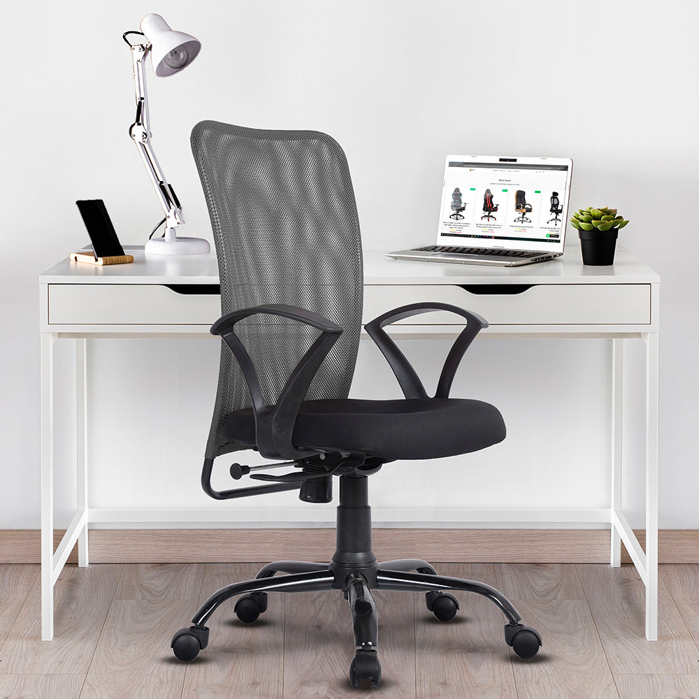 SEOUL Mid Back Mesh Office/Study Chair for Home