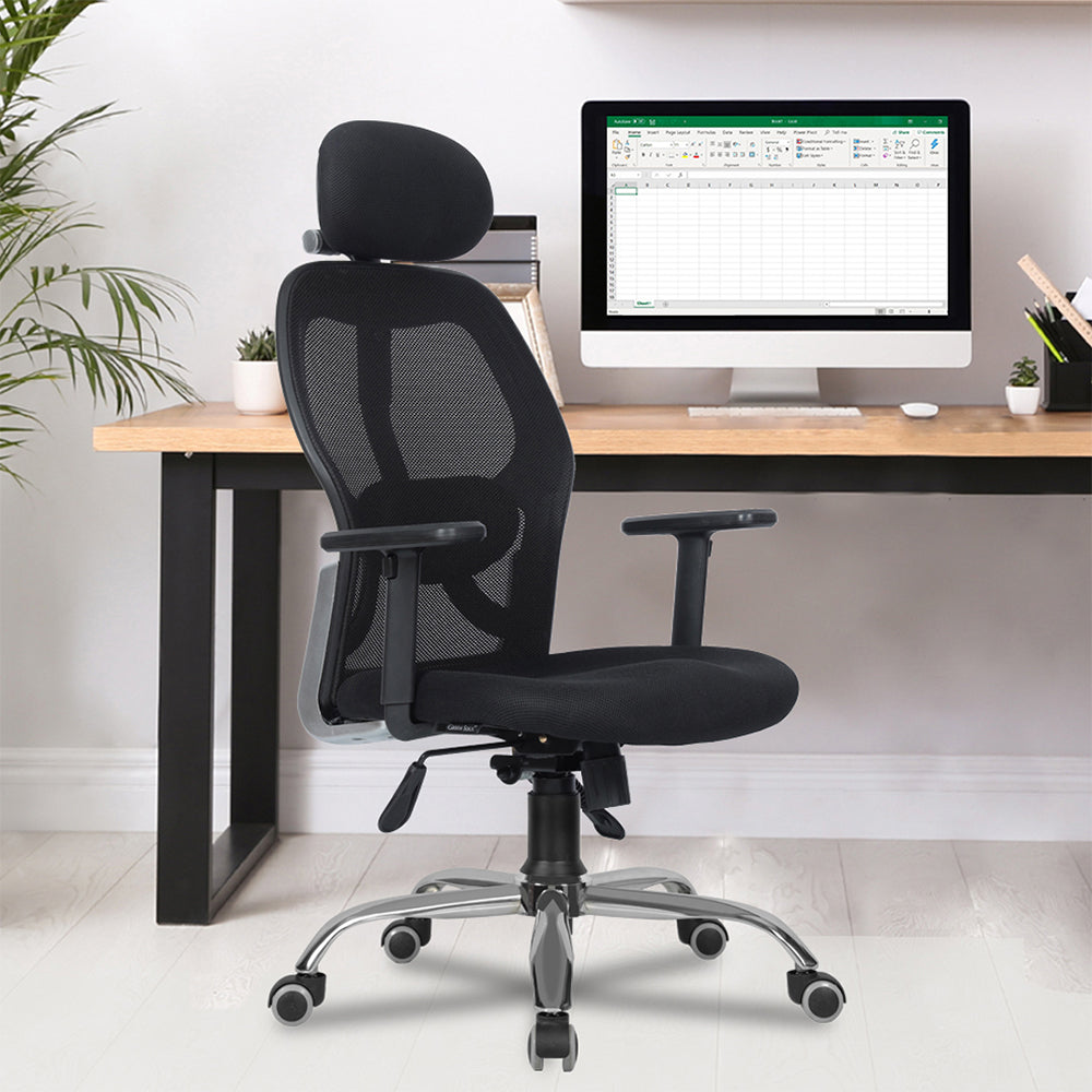 NEW YORK High Back Mesh Efficient Office Chair (Classic Model)