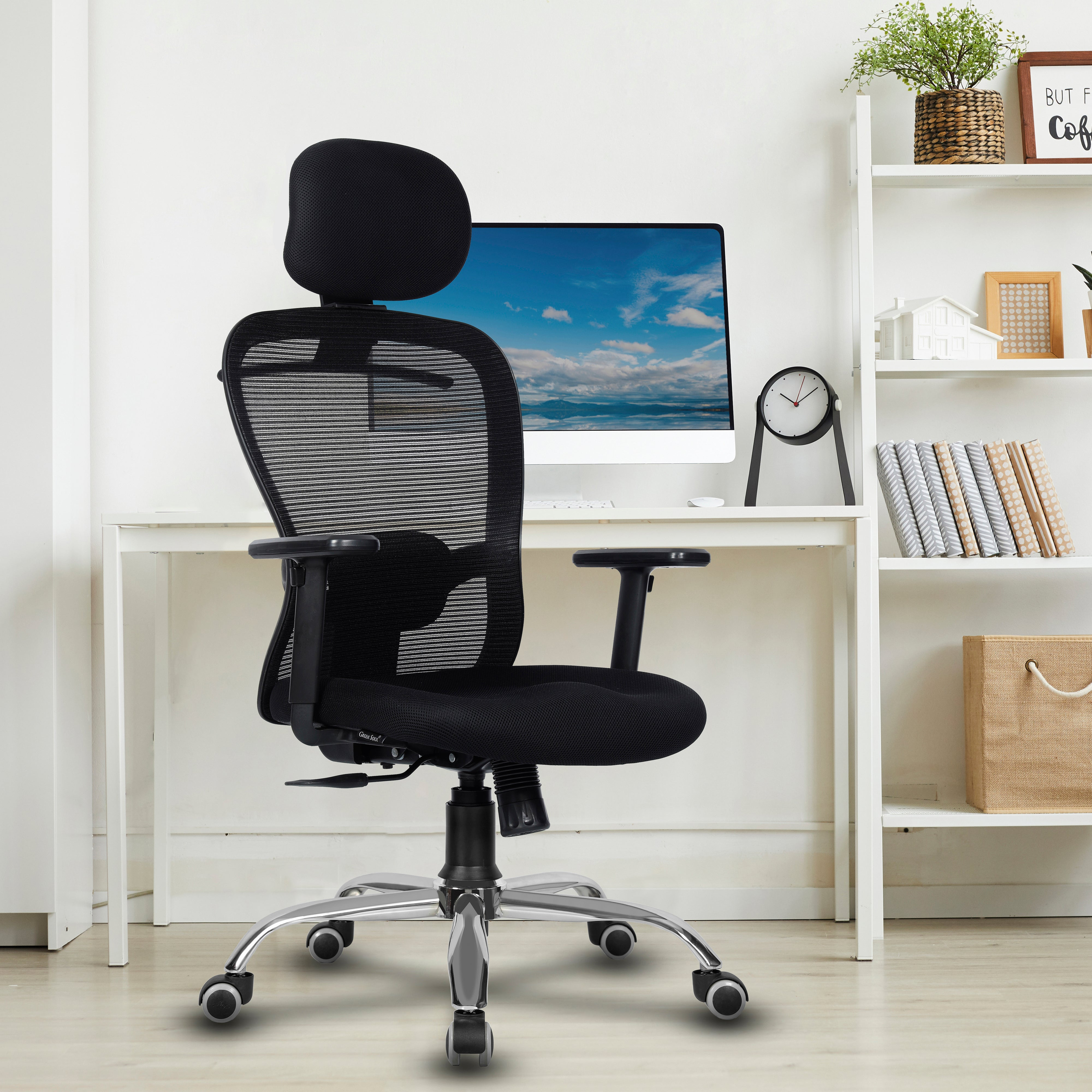 CRYSTAL High Back Mesh Efficient Office Chair