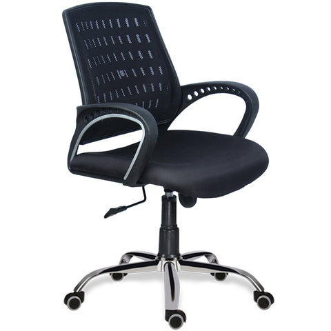 Osaka Mid Back Chair (Black)