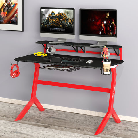 GreenSoul Gaming/Ergonomic Table (GT-2) (Black Red)