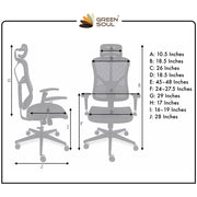 NEW YORK Plus Mesh Efficient Office Chair