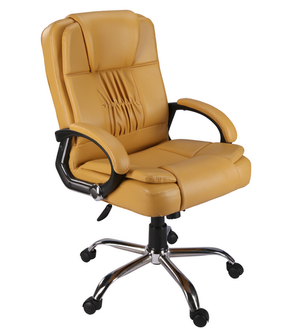 Green Soul Madrid Mid Back Office Chair (Beige) (With Any Position Tilt Lock)