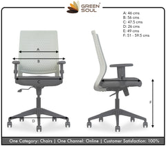 Swift Mid Back Office/Study Chair