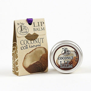 Be Thank Coconut Lip Balm 10 g., Бальзам для губ Кокос 10 гр.