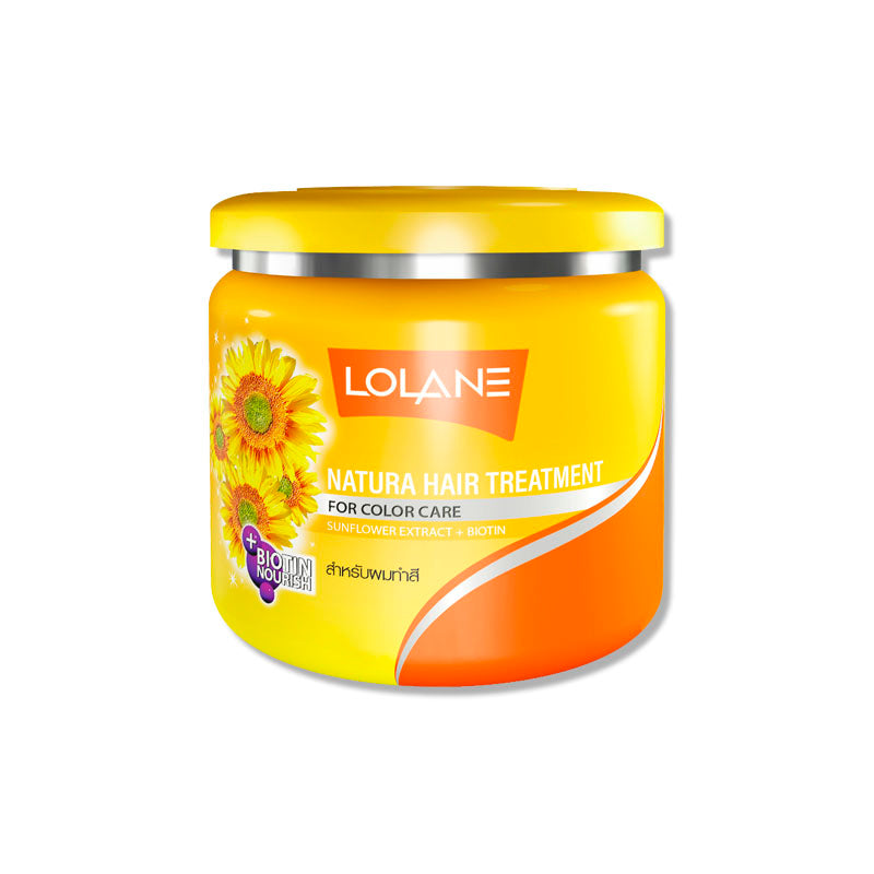 LOLANE Mask Hair Treatment for Nourishing & Color care + Sunflower Extracts 100 g., Питательная маска с экстрактом семян подсолнечника 100 гр.