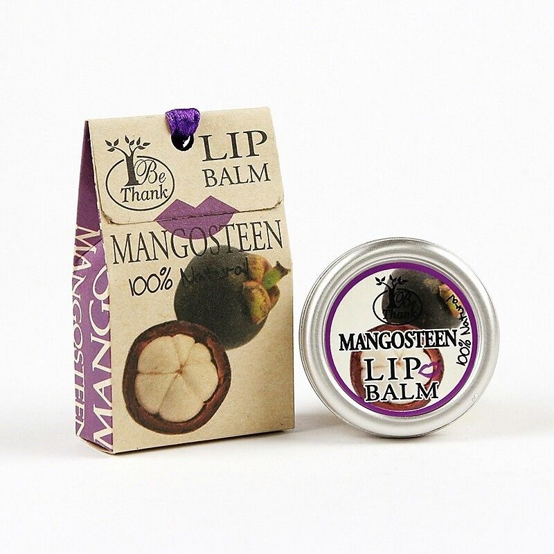 "Be Thank Mangosteen Lip Balm 10 g., Бальзам для губ ""Мангостин"" 10 гр."