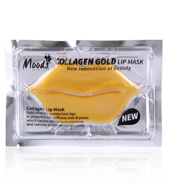 Belov Moods Collagen Crystal Lip Mask 8 g., Коллагеновая маска для губ с биозолотом 8 гр.