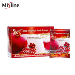 "Mistine Slim Mate Instant Pomegranate Powder Beverage with Coenzyme Q10 10 pcs.*15 g., Напиток для похудения ""Гранат + коэнзим Q10"" 10 пак.*15 гр."