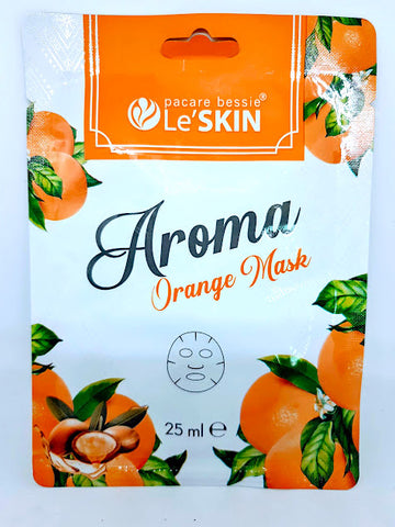 Le'SKIN Aroma Orange Mask 25 ml., Маска для лица Апельсин 25 мл.