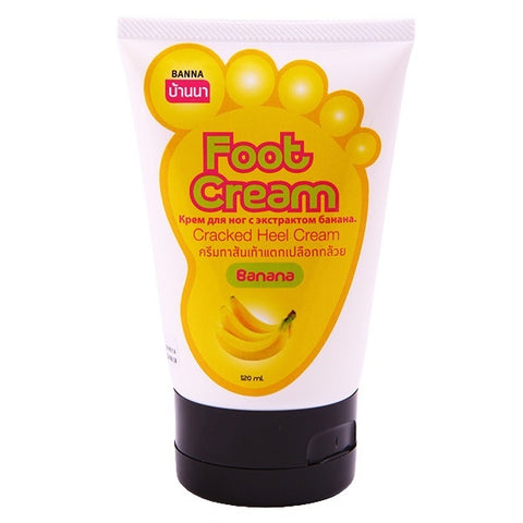 Banna Banana Foot Cracked Heel Cream 120 ml., Крем для ног с экстрактом банана 120 мл.