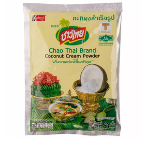 Chao Thai Brand Coconut Cream Powder 60 g., Сухое кокосовое молоко CHAO THAI 60 гр.