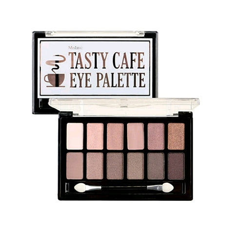 "Mistine Tasty Cafe Eye Palette, Палетка теней для век ""Tasty Cafe"" 12 оттенков"