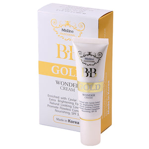 "Mistine BB Gold Wonder Cream 15 g., ВВ-крем ""Золотой"" с экстрактом икры 15 гр."