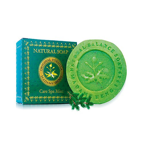 Madame Heng Natural Soap Care SPA Mint 150 g, Натуральное СПА мыло Мята 150 гр.