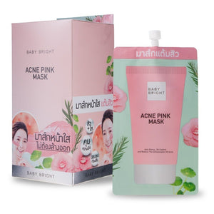 Karmart Baby Bright Acne Pink Mask 6g.*6 pcs., Розовая маска от акне 6 гр.*6 шт.