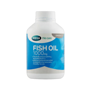 MEGA We Care Fish Oil 1,000 mg. 30 caps., Рыбий жир в капсулах 1,000 mg. 30 капс.