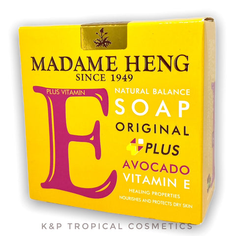 Madame Heng Vitamin E Avocado Soap 150 g., Мыло с витамином Е и экстрактом Авокадо 150 гр.