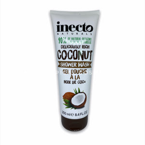 Boots Inecto Naturals Deliciously Rich Coconut Shower Wash 250 ml., Гель для душа с кокосовым маслом 250 мл.