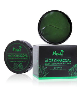Belov Moods Aloe Charcoal Starry Multipurpose Jelly Mask 60 patches Гидрогелевые патчи с Алоэ и бамбуковым углем 60 шт.