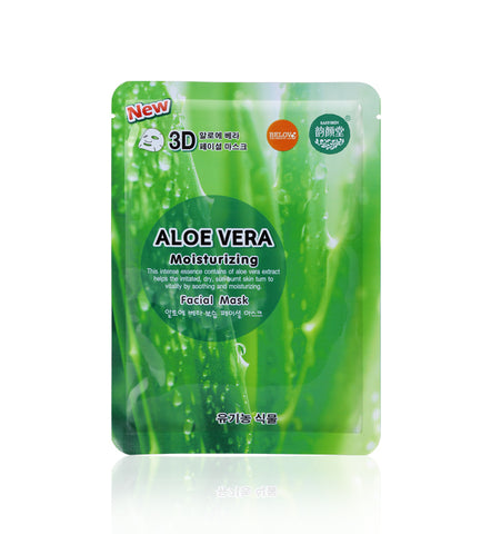 Belov East-Skin 3D Aloe Vera Facial Mask 38 ml., Маска для лица 3D Алоэ Вера 38 мл.