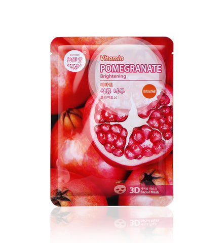Belov East-Skin Double Vitamin Pomegranate Brightening 3D Mask 38 ml., Маска для лица 3D Гранат 38 мл.