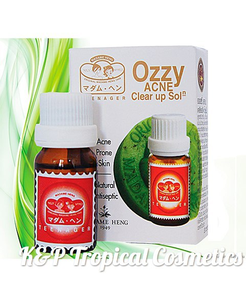 "Madame Heng Ozzy Acne Clear Up Solution 14 ml., Сыворотка ""Ozzy"" от акне 14 мл."