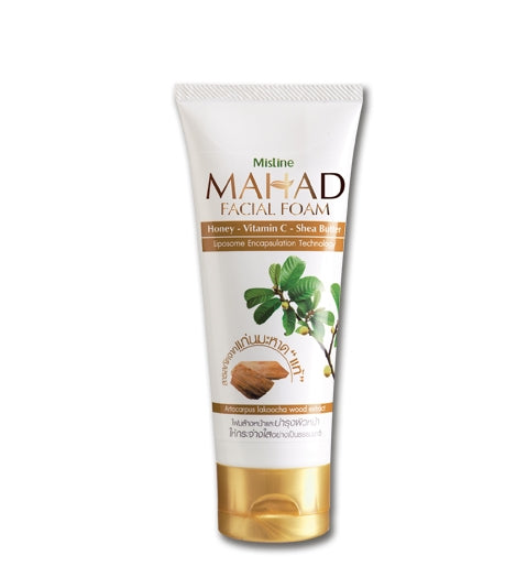 Mistine Natural Mahad Facial Foam 85 g., Очищающая пенка для лица с экстрактом махаада 85 гр.