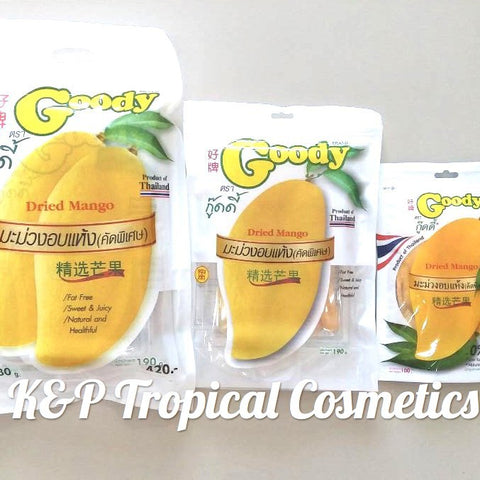 Goody Dried Mango 380 g., Вяленый манго 380 гр.