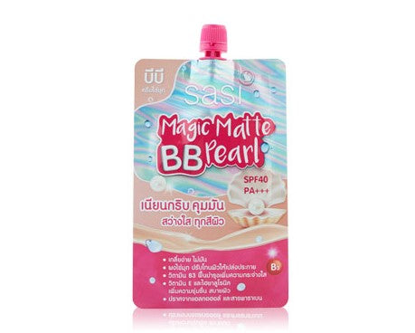 "Sasi by Srichand Magic Matte BB Pearl SPF40PA+++ 7 g., Матирующий ВВ крем ""Magic"" SPF40PA+++ 7 гр."