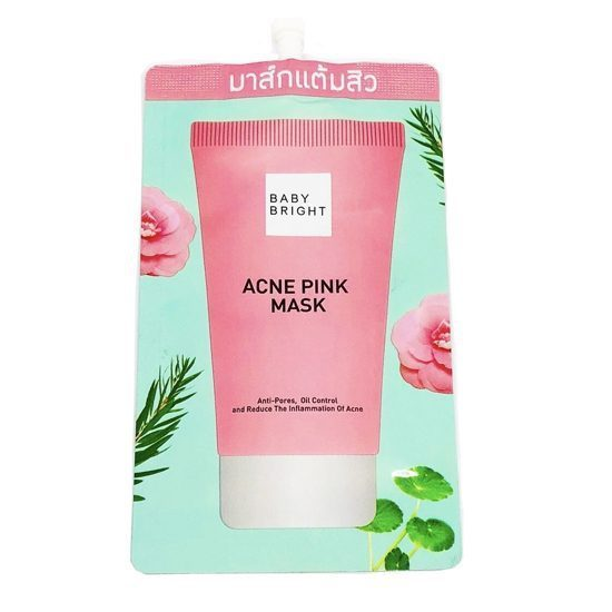 Karmart Baby Bright Acne Pink Mask 6g., Розовая маска от акне 6 гр.