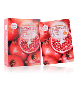 Belov East-Skin Double Vitamin Pomegranate Brightening 3D Mask 10 pcs.*38 ml., Маска для лица 3D Гранат 10 шт.*38 мл.