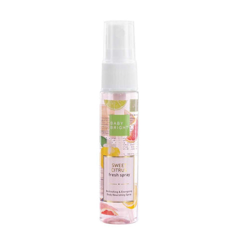 "Karmart Baby Bright Sweet Citrus Fresh Spray 20 ml., Спрей освежающий с натуральными экстрактами ""Сладкий цитрус"" 20 мл."