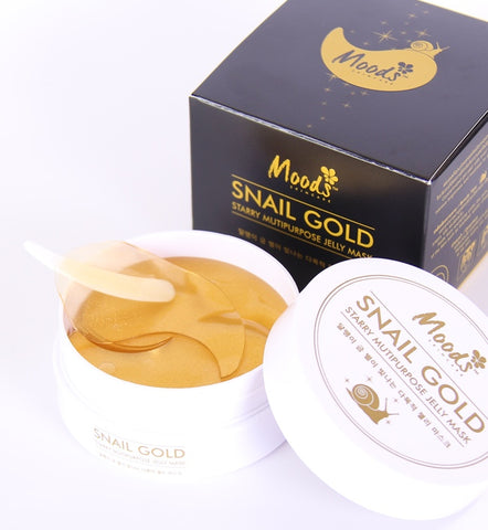 Belov Moods Snail Gold Starry Multipurpose Jelly Mask 60 patches Гидрогелевые патчи с улиткой и золотом 60 шт.