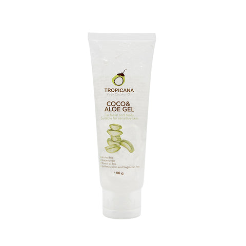 Tropicana Coco & Aloe Gel 100 ml., Гель для лица и тела с экстрактом Алоэ Вера и кокоса 100 мл.