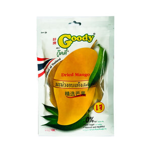 Goody Dried Mango 100 g., Вяленый манго 100 гр.