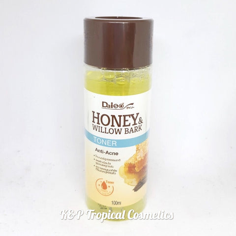 Daiso Honey & Willow Bark Toner 100 ml., Тонер для лица с медом и ивовой корой 100 мл.
