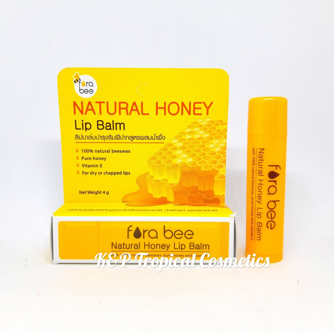 Fora Bee Natural Honey Lip Balm 4 g., Натуральный бальзам для губ с медом 4 гр.