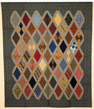 Civil War Reproduction Quilt by The Gourmet Quilter