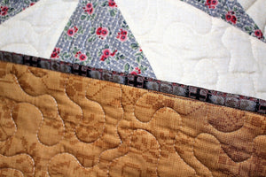 Maltese Crossing Handmade Quilt by The Gourmet Quilter
