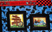 Bugs On Bikes Quilt made by The Gourmet Quilter