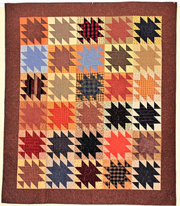 Country Check Quilt by The Gourmet Quilter