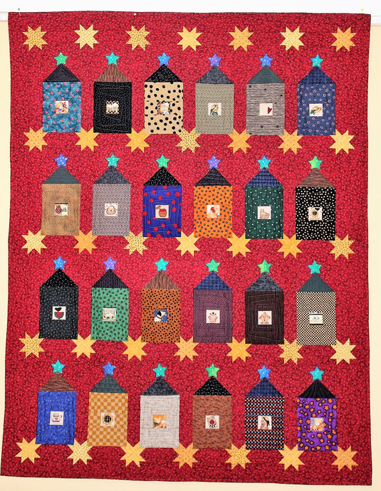 House Quilt by The Gourmet Quilter