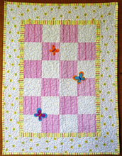Butterflies Quilt by The Gourmet Quilter