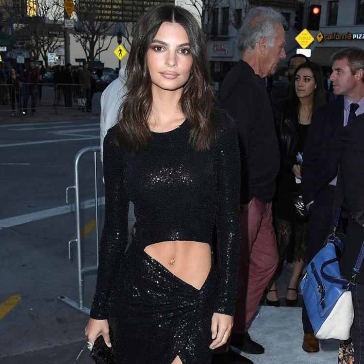 Vogue - Emily Ratajkowski Carries Tyler Ellis