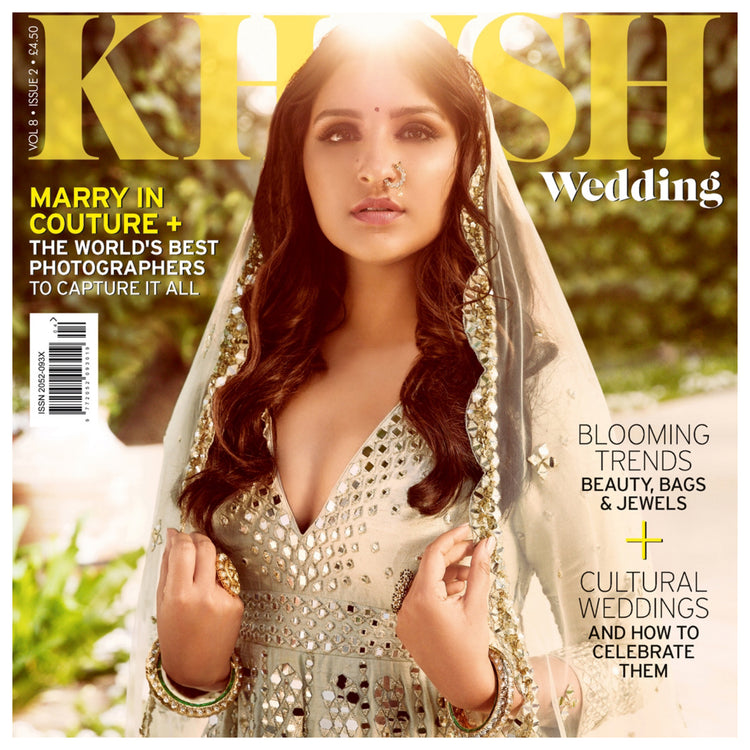 Khush Wedding features our Perry Clutch