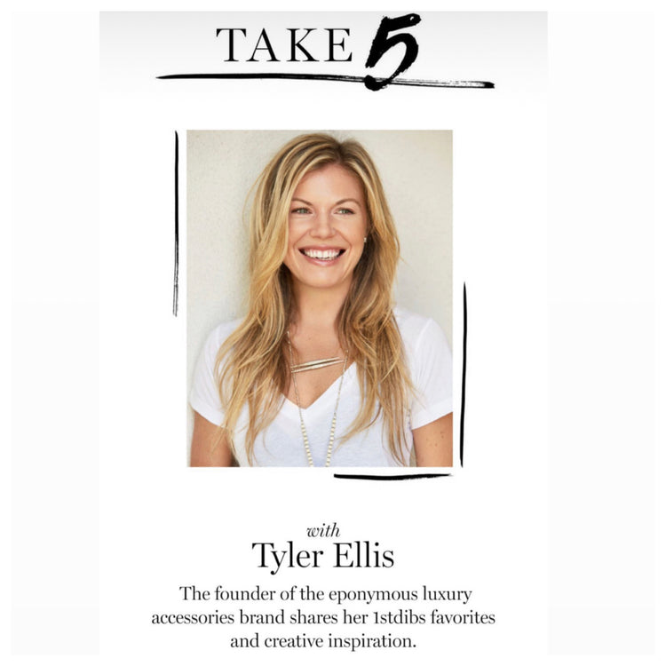 1stdibs spotlights Tyler Ellis, her creative inspirations and her favorite 1stdibs purchases