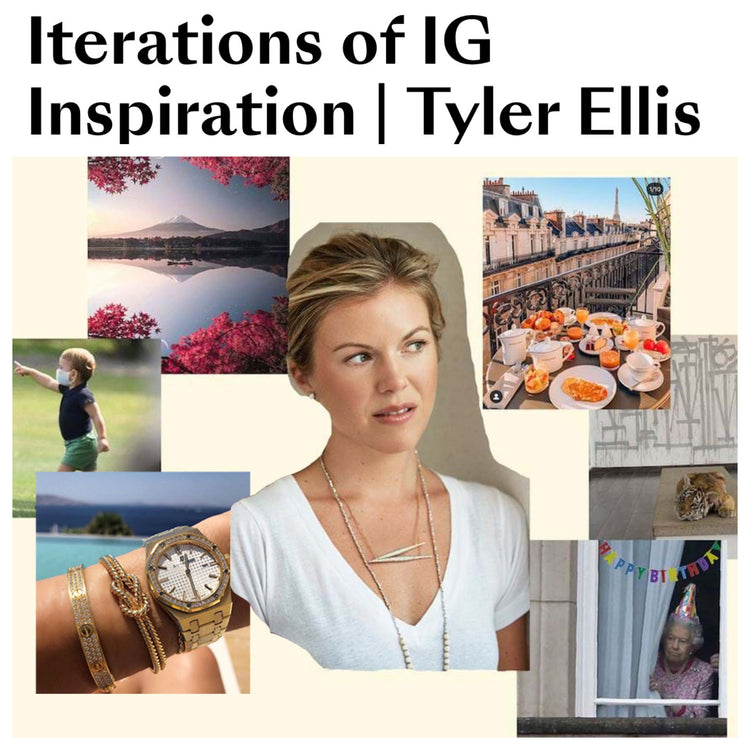 Because Magazine highlights Tyler's Instagram Favorites
