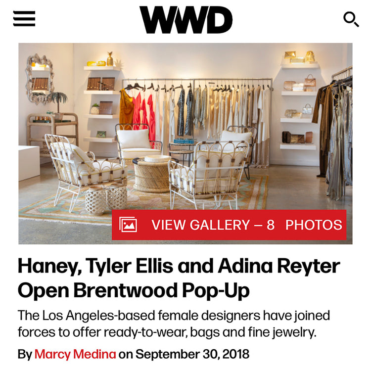 WWD: LA Designers Open Brentwood Pop-Up